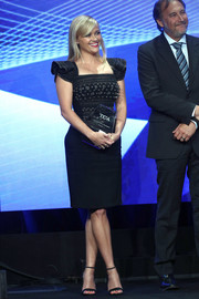 Reese Witherspoon looked totally fetching in an Antonio Berardi LBD with a beaded bodice and flutter sleeves at the TCA Awards.