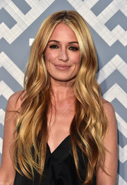 Cat Deeley was gorgeously coiffed with long lush waves at the 2017 Summer TCA Tour.