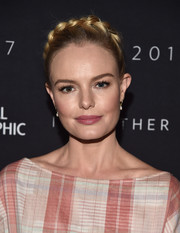 Kate Bosworth looked like a fairytale princess with her crown braid at the 2017 Summer TCA Tour National Geographic party.