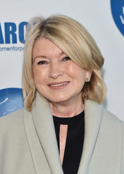 Martha Stewart opted for a simple bob when she attended the 2017 March in March Awards.