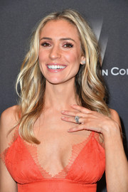 Kristin Cavallari topped off her look with boho waves when she attended the Weinstein Company Golden Globes after-party.