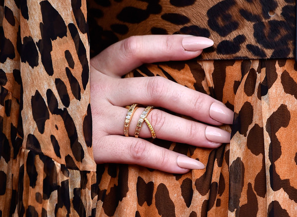 More Pics of Demi Lovato Long Straight Cut (1 of 6) - Hair Lookbook - StyleBistro [nail,finger,skin,hand,brown,beauty,manicure,nail care,ring,close-up,arrivals,demi lovato,billboard music awards,fashion detail,las vegas,nevada,mgm grand garden arena]