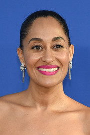 Tracee Ellis Ross went for an ultra-glam finish with a pair of diamond chandelier earrings by Tiffany & Co.