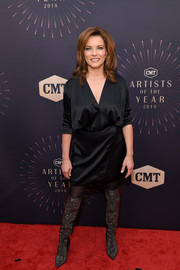 Martina McBride opted for a simple little black dress when she attended the 2018 CMT Artists of the Year event.