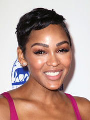 Meagan Good looked summer-chic with her pixie at the 2018 Daytime Hollywood Beauty Awards.