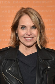 Katie Couric sported a stylish bob at the 2018 Embrace Ambition Summit.