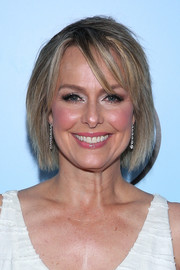 Melora Hardin attended the 2018 Make-Up Artists & Hair Stylists Guild Awards wearing her hair in a simple bob.