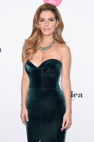 More Pics of Maria Menounos Gemstone Chandelier Necklace (1 of 5) - Chandelier Necklaces Lookbook - StyleBistro