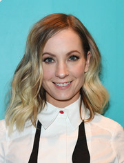 Joanne Froggatt looked lovely with her big waves at the 2018 Sundance Film Festival official kickoff party.