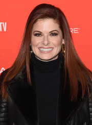 Debra Messing flaunted a perfectly sleek 'do at the Sundance premiere of 'Search.'