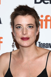 Agyness Deyn kept it breezy with this fauxhawk at the TIFF premiere of 'Her Smell.'