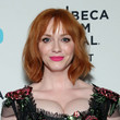 Christina Hendricks' Face-Framing Waves