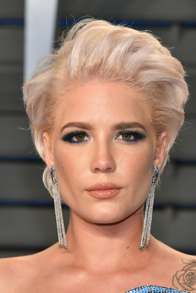 More Pics of Halsey Short Side Part (14 of 20) - Short Hairstyles ...
