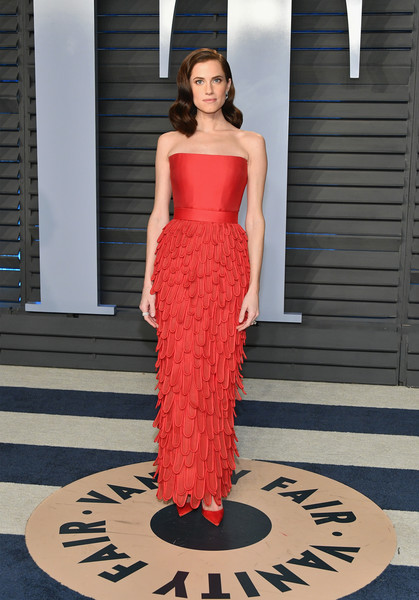 Allison Williams in Jean-Louis Sabaji