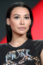 Naya Rivera went for a fuss-free straight style when she attended the 2018 Winter TCA Tour.