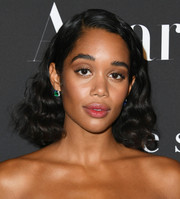 Laura Harrier kept it girly with these shoulder-length curls at the 2019 InStyle Awards.
