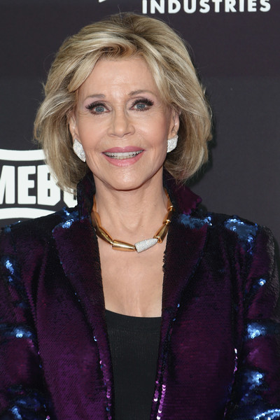 Jane Fonda wore her hair in an elegant bob at the 2019 Lo Maximo Awards.