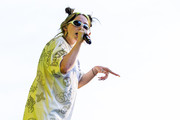 Billie Eilish looked cool wearing these oval shades at the 2019 Music Midtown.