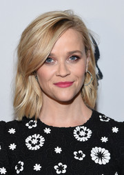 Reese Witherspoon looked stylish with her tousled waves at the New York Film Critics Circle Awards.