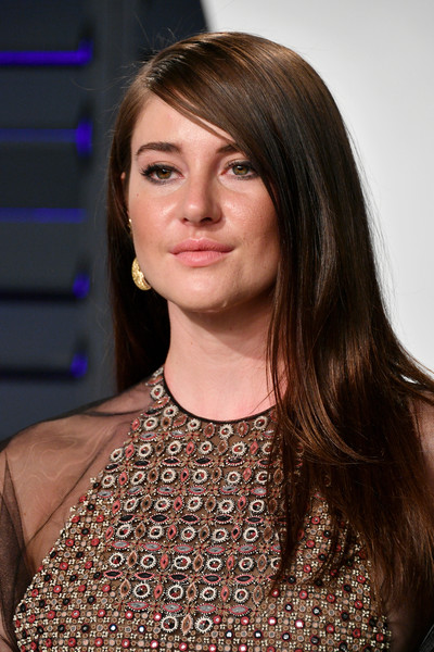 Shailene Woodley showed off silken tresses at the 2019 Vanity Fair Oscar party.