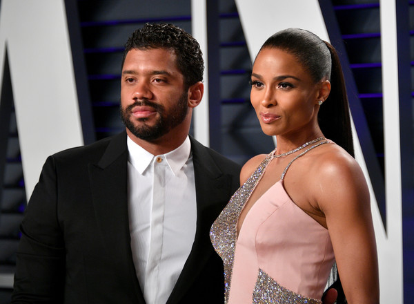 More Pics of Ciara Ponytail (4 of 10) - Ciara Lookbook - StyleBistro [oscar party,vanity fair,l,fashion,suit,event,formal wear,dress,muscle,model,premiere,neck,fashion accessory,beverly hills,california,wallis annenberg center for the performing arts,radhika jones - arrivals,russell wilson,radhika jones,ciara]
