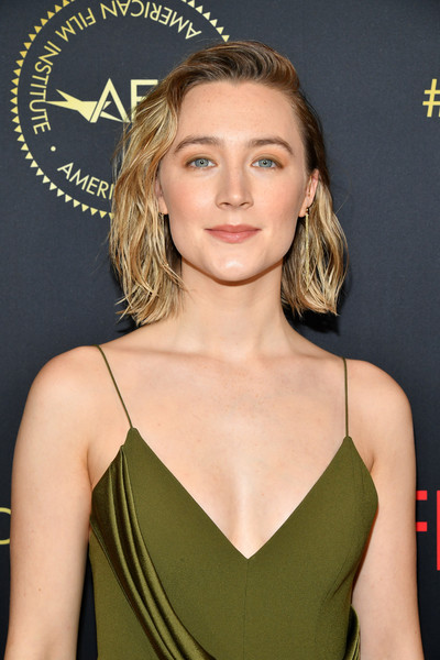 More Pics of Saoirse Ronan Jumpsuit (1 of 11) - Saoirse Ronan Lookbook - StyleBistro [hair,hairstyle,clothing,blond,eyebrow,beauty,premiere,chin,long hair,cocktail dress,arrivals,saoirse ronan,los angeles,four seasons hotel,california,beverly hills,afi awards,saoirse ronan,american film institute awards 2019,american film institute,little women,aacta awards,actor,golden globe awards,award,aacta international award for best actress,laura dern]