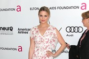 Actress Dianna Agron arrives at the 20th Annual Elton John AIDS Foundation's Oscar Viewing Party held at West Hollywood Park on February 26, 2012 in West Hollywood, California.