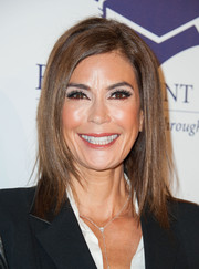 Teri Hatcher looked hip with her sleek layers at the Fulfillment Fund Stars Benefit Gala.