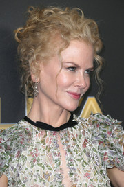 Nicole Kidman attended the Hollywood Film Awards wearing her hair in pinned-up ringlets.