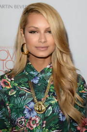 Havana Brown rocked a deep side part at the Love to Erase MS gala in California.