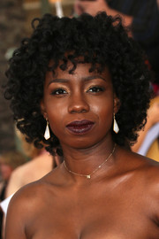 Adepero Oduye framed her face with a curly 'do for the 2014 SAG Awards.