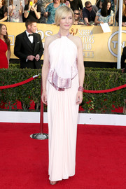 Cate Blanchett was a style goddess in a shimmery Givenchy halter gown during the SAG Awards.