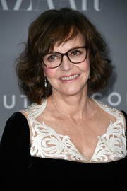 Sally Field attended the Costume Designers Guild Awards wearing her hair in a curled-out bob.