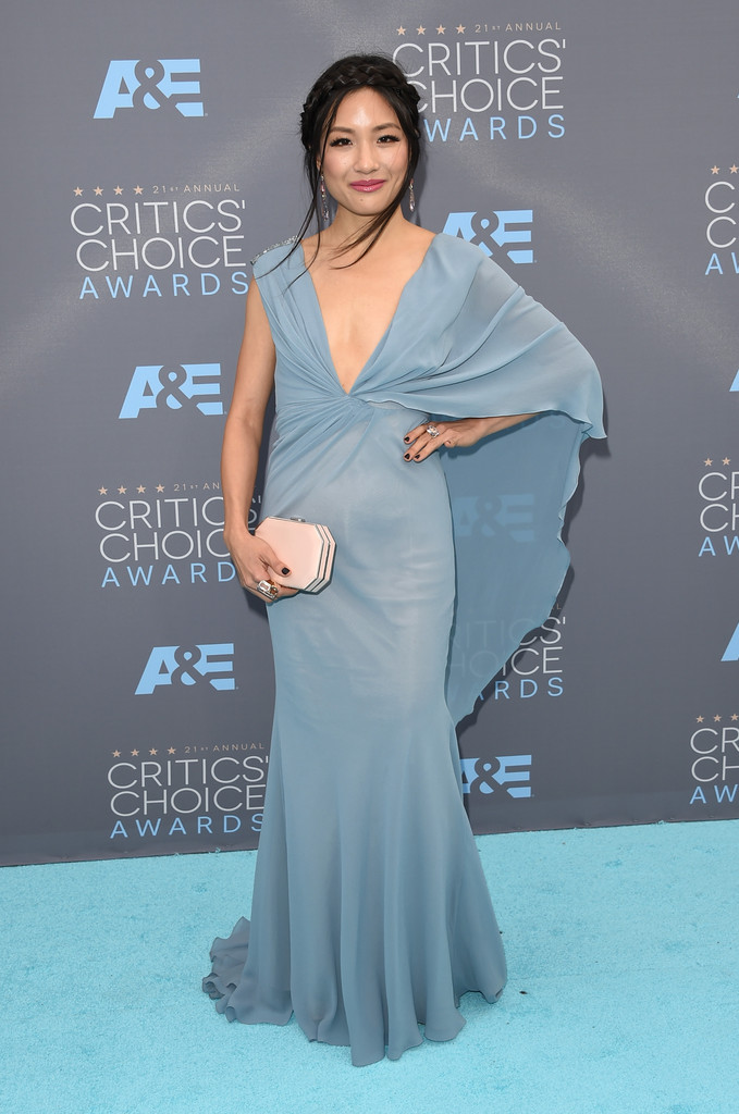 Constance Wu Best Dressed At The 21st Critics Choice