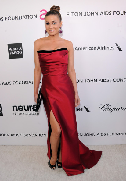 Carmen Electra at Elton John's 2013 Oscars Party