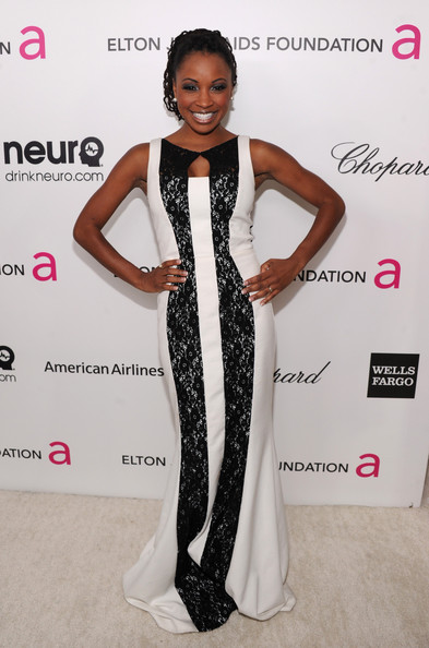 Shanola Hampton at Elton John's 2013 Oscars Party