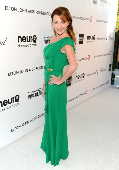 Jane Seymour at Elton John's 2013 Oscars Party