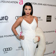 Kim Kardashian Wore Donna Karan at Elton John's 2013 Oscars Party