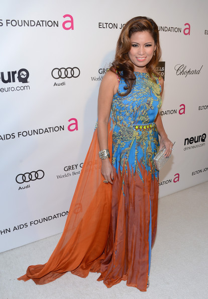 Zarah at Elton John's 2013 Oscars Party