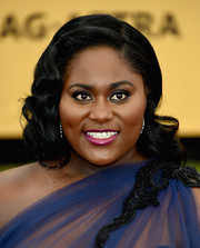 Danielle Brooks attended the SAG Awards wearing her hair in flawlessly styled vintage curls.