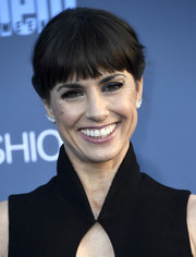 Constance Zimmer pulled her hair back into a simple ponytail for the Critics' Choice Awards.