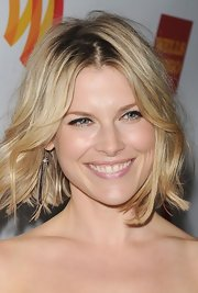 Ali Larter attended the 23rd Annual GLAAD Media Awards wearing a pair of paved diamond graphite ice tassel earrings.