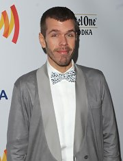Here's another one of Perez Hilton's novelty fashion pieces: a bowtie studded all over with moving eyes!