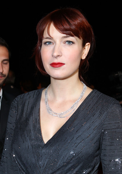 Diablo Cody wore a classic red lipstick at the 23rd Annual Palm Springs International Film Festival.