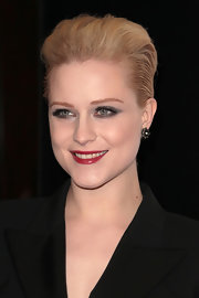 Evan Rachel Wood added a lot of volume to her short 'do and swept it back for added drama at the 23rd Annual Producers' Guild Awards.