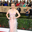 Kaley Cuoco in Marchesa at the SAG Awards