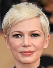 Michelle Williams went punk-glam with this messy pixie at the SAG Awards.