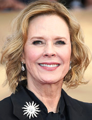 JoBeth Williams looked lovely with her short wavy cut at the 2017 SAG Awards.