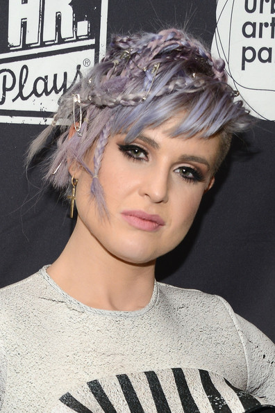 Kelly Osbourne's Lilac Locks