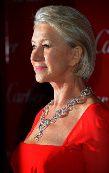 More Pics of Helen Mirren Short Straight Cut (3 of 28) - Helen Mirren Lookbook - StyleBistro